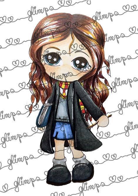 Wizard Glimps Hermione