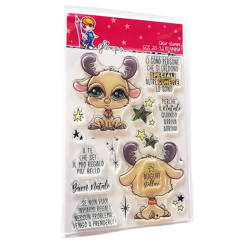 GLIMPS CLEAR STAMPS - GCS 20-32 RENNINA