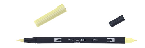 090 BABY YELLOW - TOMBOW - DUAL BRUSH