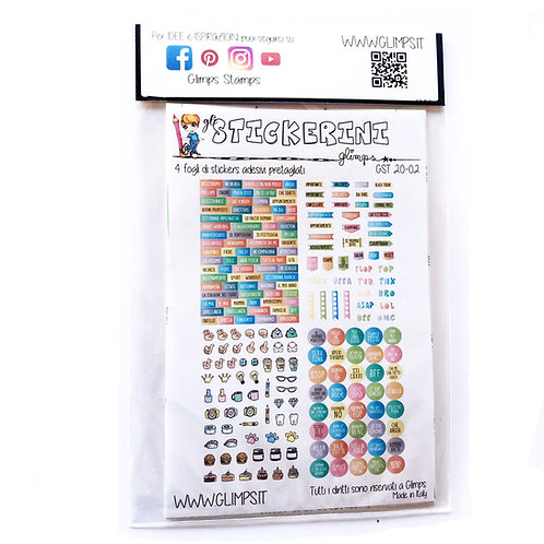 STICKERINI - GST 20-02
