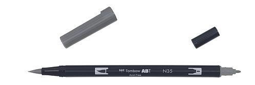 N35 COOL GRAY 12 - TOMBOW - DUAL BRUSH