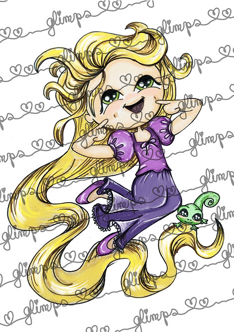 Glimps Funny Rapunzel