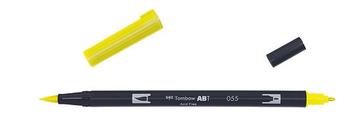 055 PROCESS YELLOW - TOMBOW - DUAL BRUSH