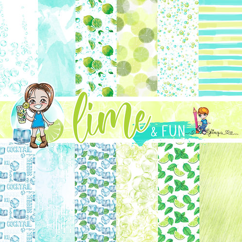 Set Carte Lime