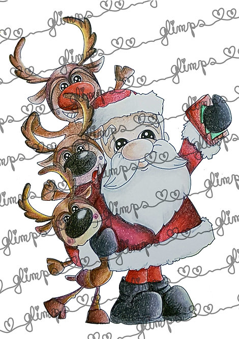 Santa Claus Selfie