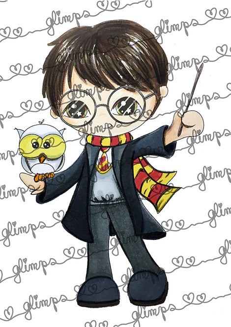 Wizard Glimps Harry