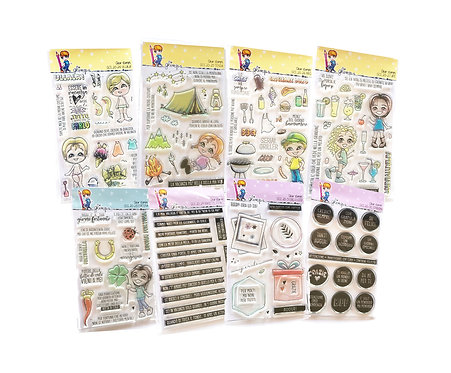 40 GLIMPS CLEAR STAMPS SC. 40% - New Release
