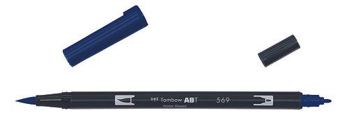 569 JET BLUE - TOMBOW - DUAL BRUSH