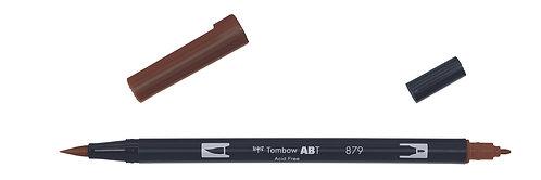 879 BROWN - TOMBOW - DUAL BRUSH