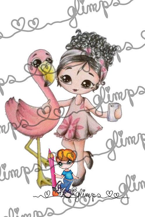 Flamingo Selfie