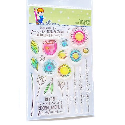GLIMPS CLEAR STAMPS - GCS 21-46 FIORI