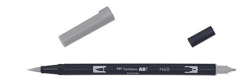 N60 COOL GRAY 6 - TOMBOW - DUAL BRUSH