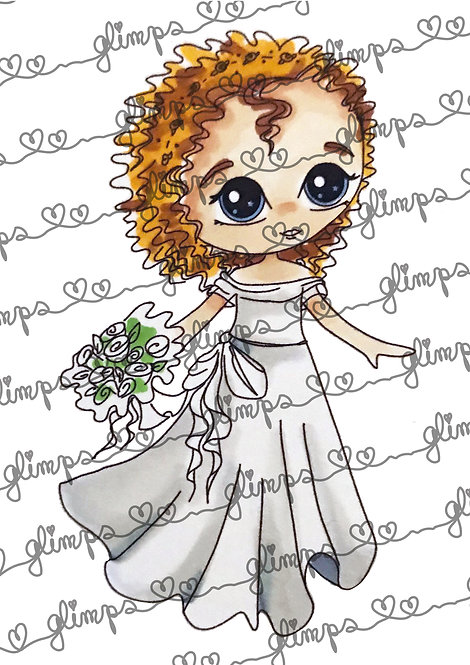 Combo Bride Curly