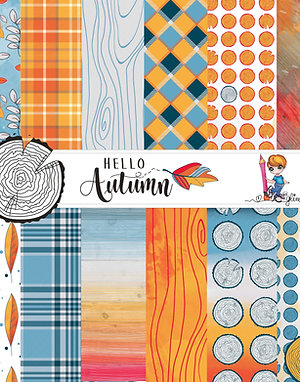Set Carte Hello Autumn