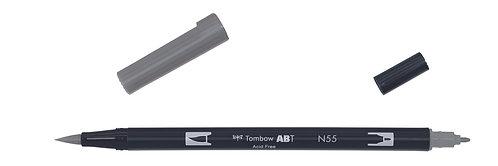 N55 COOL GRAY 7 - TOMBOW - DUAL BRUSH