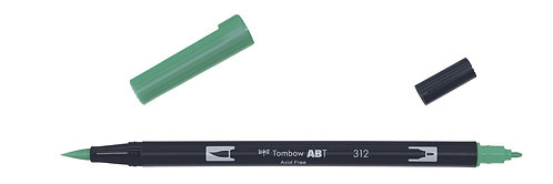 312 HOLLY GREEN - TOMBOW - DUAL BRUSH