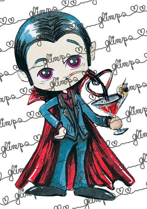 Dracula's drink