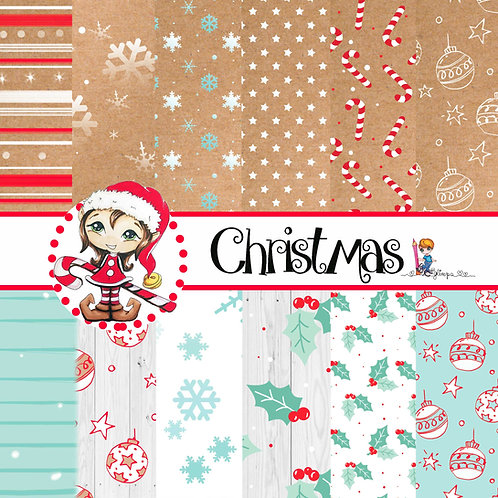 Set Carte Christmas