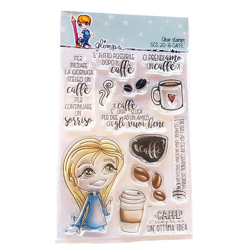 GLIMPS CLEAR STAMPS - GCS 20-16 CAFFE'