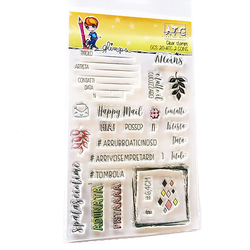 GLIMPS CLEAR STAMPS - GCS 20-ATC 2 - COINS