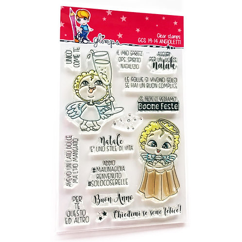 GLIMPS CLEAR STAMPS - GCS 19-14 ANGIOLETTI