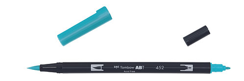 452 PROCESS BLUE - TOMBOW - DUAL BRUSH