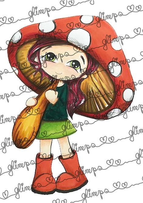 Lady mushroom