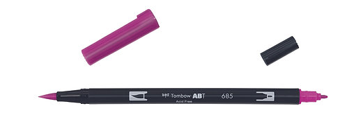 685 DEEP MAGENTA - TOMBOW - DUAL BRUSH