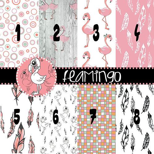 Set Carte Flamingo