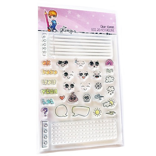 GLIMPS CLEAR STAMPS - GCS 20-43 FACCINE