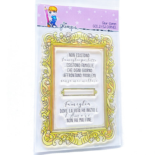 GLIMPS CLEAR STAMPS - GCS 21-52 CORNICE