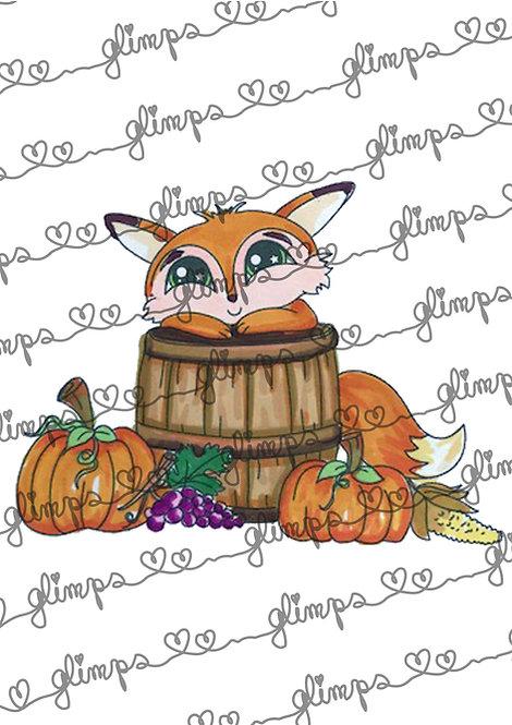 Fox autumn