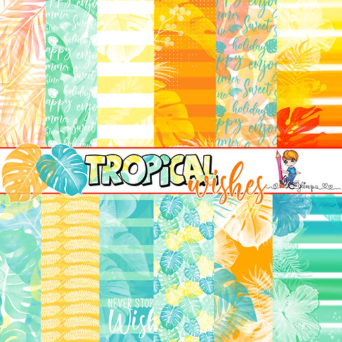 Set Carte Tropical