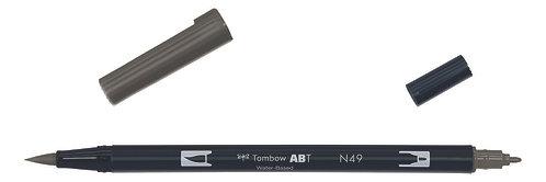 N49 WARM GRAY 8 - TOMBOW - DUAL BRUSH