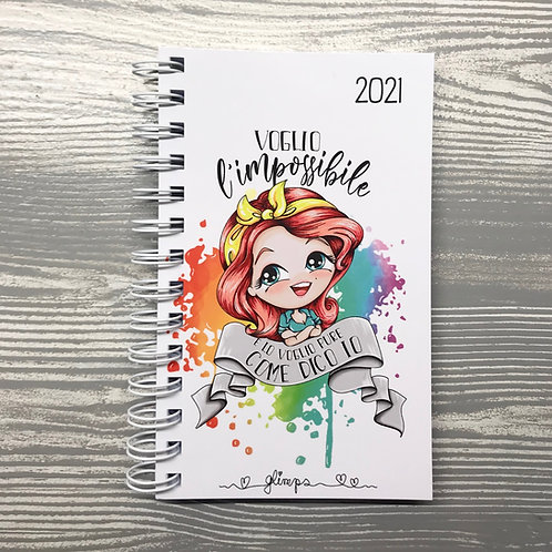 PLANNER GLIMPS 2021 - WHITE