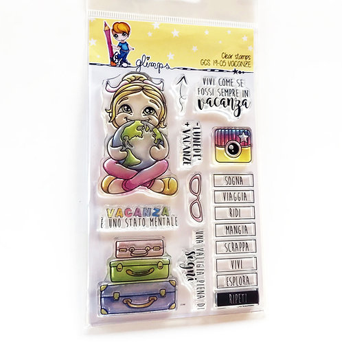 GLIMPS CLEAR STAMPS - GCS 19-05 VACANZE