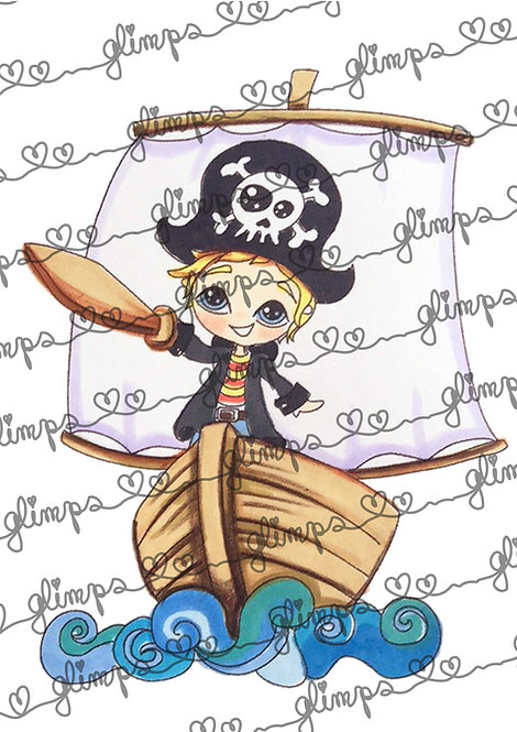 Pirate baby captain