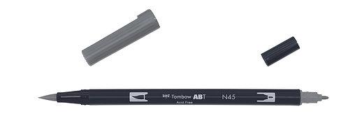 N45 COOL GRAY 10 - TOMBOW - DUAL BRUSH
