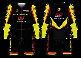 No-pinz Skinsuit design-Ely & District C