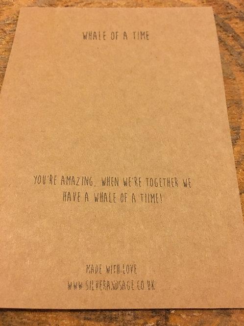 Message card & envelope