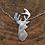 Thumbnail: Deer / Reindeer silver pendent