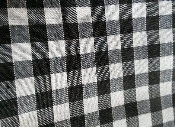 Black and white gingham