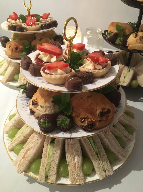Jewellery workshop, High tea & Prosecco for 2