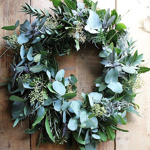Live wreath