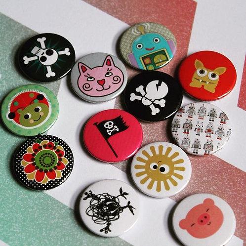 Make badges kids party/workshop
