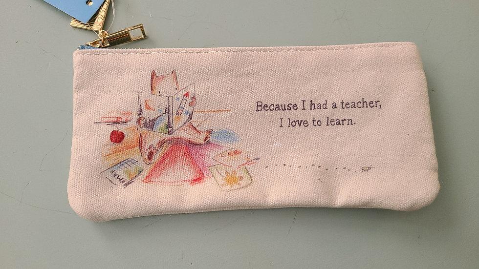 Because I had a teacher purse