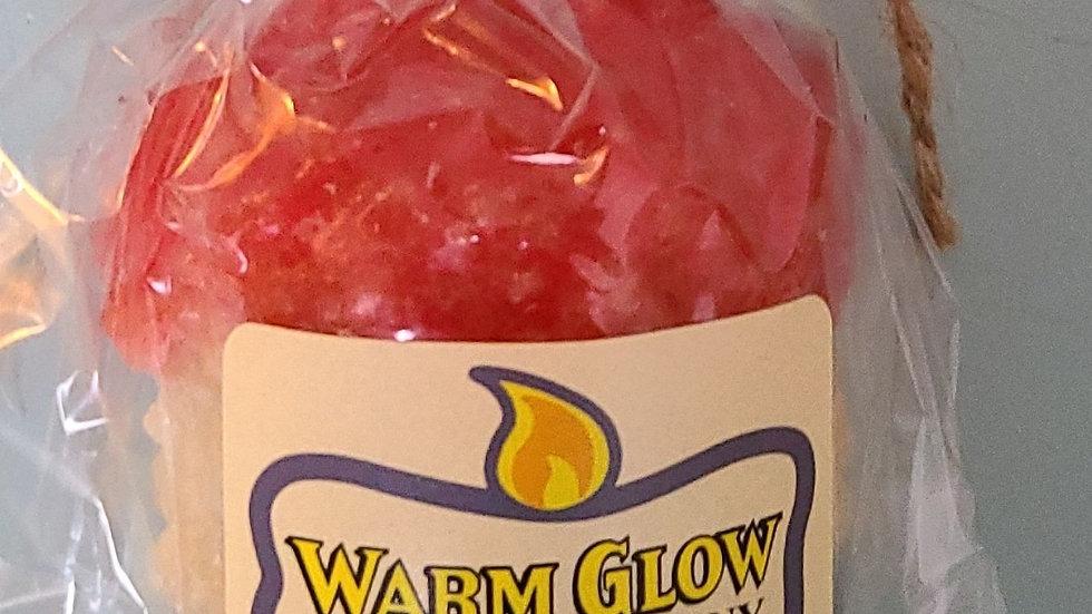 Warm glow peace candle