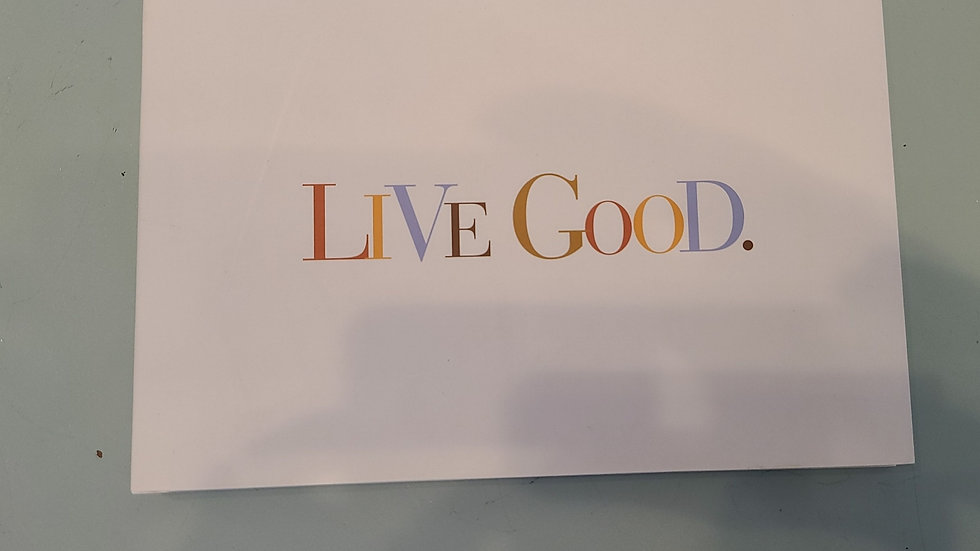 Live good inspirational book