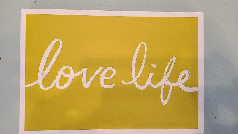 Love life inspirational book