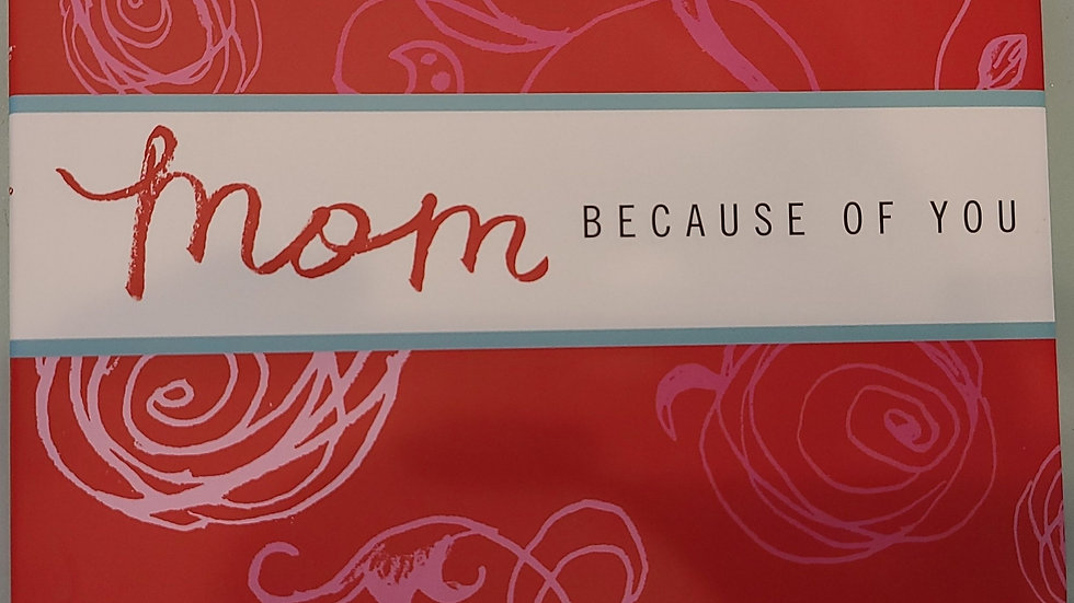 Mom appreciation book